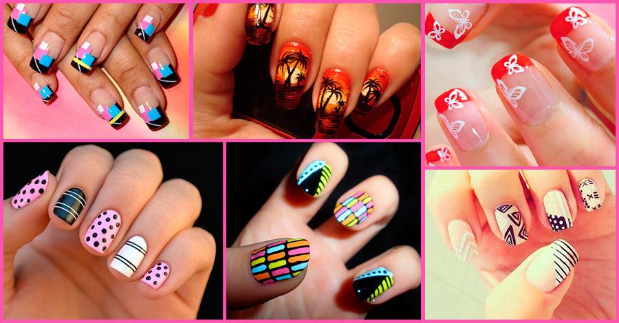 Рисунки на ногтях дизайн ногтей